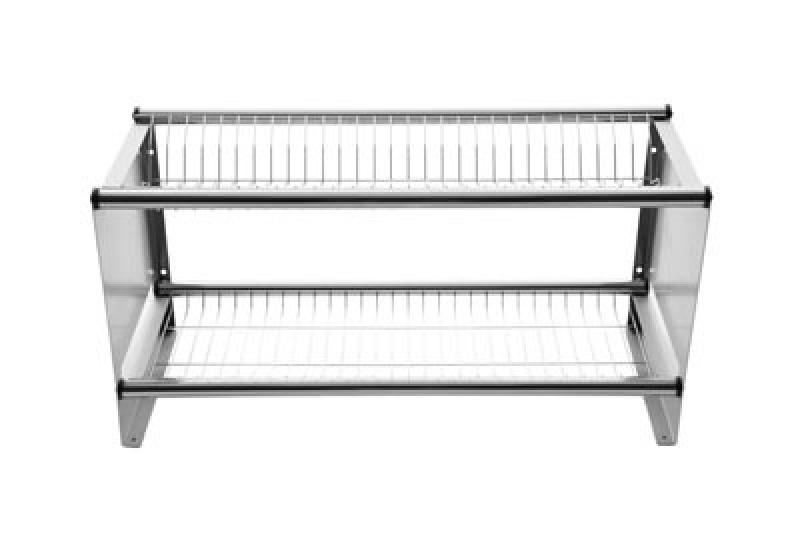 Preço de Escorredor de Pratos Inox para Cozinha Industrial Moema - Escorredor de Pratos de Parede Industrial
